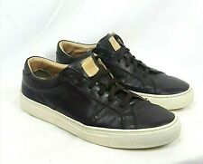 c5ecc781f36 GREATS THE ROYALE Mens SIZE 10 Espresso Brown Leather Lace Up Sneakers
