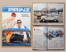 Orig. Werbeprospekt Zeitschrift NSU Unser Prinz 1963 Audi Auto Union Automobile