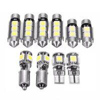 10Pcs White Car Interior Lighting Led Bulb Kit For Volkswagen Mk5 Golf Gti V9T6