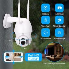 1080P Outdoor HD FUNK WLAN WIFI IP NETZWERK CAMERA AUßEN ZOOM ÜBERWACHUNGSKAMERA