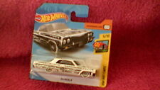 Hot Wheels - UK Card - #326 '64 Impala - White & Black
