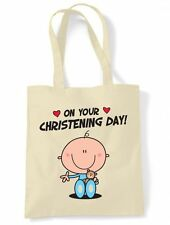 CHRISTENING DAY BABY BOY TOTE SHOLDER BAG - Present Gift
