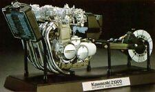Tamiya 1/6 Motorcycle Series No.23 Kawasaki Z1300 Engine Plastic Model Kit 16023