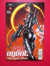 RED AGENT HUMAN ORDER #2C (NM) JAMIE TYNDALL variant Zenescope Grimm Fairy Tales
