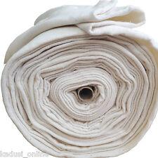 Guata de algodón de 280 cm de ancho para manualidades. Se vende a metros