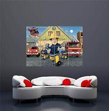 Fireman Sam Nuevo Poster Gigante Imagen de Impresión Arte de Pared OZ226
