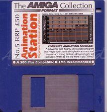 Amiga Format - Magazine Coverdisk - Animation Station <MQ>