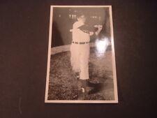 1956 Cleveland Indians Al Rosen Autographed Glossy Postcard Autographed