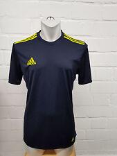 Adidas Herren T-Shirt Tanc TRG Tee (CD5312) Blau-Geilb, Gr. S-2XL  NEU!!!