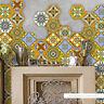 10pcs Self Adhesive Tile Art Wall Decal Sticker DIY Kitchen Bathroom Home Decor