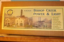 N SCALE BISHOP CREEK POWER & LIGHT   by N SCALE ARCHITECT # 10025