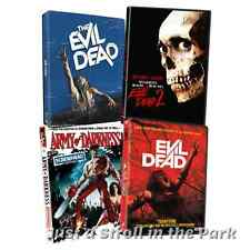 The Evil Dead Complete Series Movies 1 2 3 + 4 Army of Darkness Box / DVD Set(s)