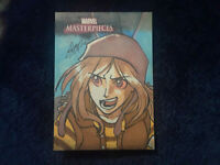 Marvel Masterpieces 2008 1 of 6 sketch card puzzle piece Remy Mokhtar!