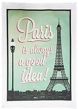 Paris, Toujours une bonne idée-style vintage gros coton Torchon