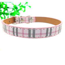 Ancol Tartan Adjustable Dog Collar Lead Blue / Red /Purple Small Medium Large MG