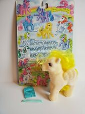 1986 Hasbro My Little Pony So Soft G1 Lofty complete cardback pick mlp