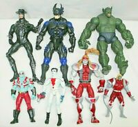 MARVEL TOY BIZ HASBRO LOT OF 7 ACTION FIGURES 90S-2000'S ABOMINATION, OMEGA RED+