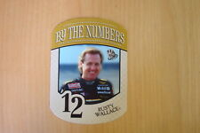 2010 Press Pass By The Numbers #BN12 Rusty Wallace Card