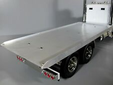 "Custom made Aluminum Flat Bed Section""ONLY"" for Tamiya 1/14 RC King Grand Hauler"