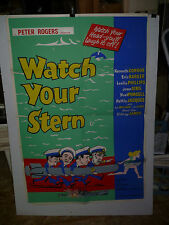 WATCH YOUR STERN, orig British 1-sht (Kenneth Connor, Joan Sims)