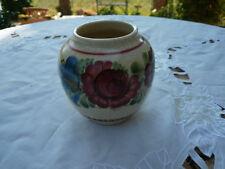 Alte antike Blumen Vase Gmundner Keramik Original klein handbemalt