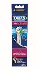 Braun Oral B Set 3 Spazzolini Floss Action EB25-3 Originali 64708766