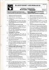 Service Manual-Anleitung für Blaupunkt Granada 7 626 500