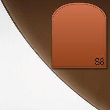 Glasbodenplatte Funkenschutz Platte Kaminplatte Ofen S8 Bronze getönt 6mm Neu