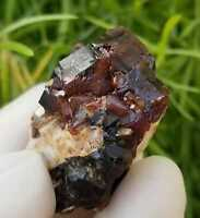 80ct, Top Quality Natural Andradite Garnet Cluster from Afghanistan, US SELLER
