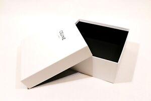 """SCATOLA CONFEZIONE LUSSO - GIFT BOX """"CELINE"""" PARIS 2021 ORIGINALE (31x31x13)"""