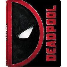 Deadpool Limited Edition SteelBook [Blu-ray + DVD + Digital Movie, 2-Disc] NEW