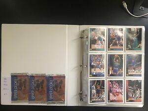 1993/94 Upper Deck NBA Basketball Series 1 COMPLETE Common card Set #7 JORDAN !
