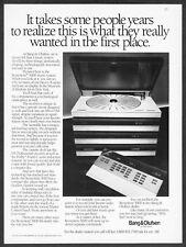 1985 Bang & Olufsen Beosystem 5000 Music System photo vintage print ad