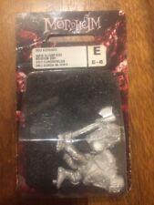 Mordheim Ogre Bodyguard contrató Espada Metal Raro Nuevo en Caja Games Workshop fuera de imprenta