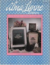 A Country Home Sampler Cross Stitch | Alma Lynne ALX-50 House
