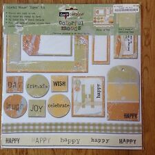 My Mind's Eye Dee's Designs Colorful Moods Kit - Happy