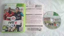 JUEGO COMPLETO FIFA 12 SOCCER 2012 MICROSOFT XBOX 360 PAL EUROPA UK. BUEN ESTADO