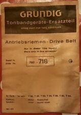 Grundig Antriebsriemen für T Modell Tonbandgeräte - # 7881-718 - neu & ovp 1965