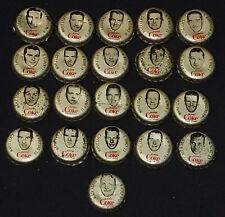 1964/65 - COCA-COLA /COKE - HOCKEY CAP (21) HOWE, HULL, BELIVEAU, etc - ORIGINAL