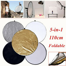 1Pc 5-in-1 Foldable Photograph Light Reflector Camera Equipment Fill Light Board
