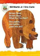 Brown Bear, Brown Bear, What Do You See? / Oso Pardo, Oso Pardo, Que Ves Ahi? (Bilingual Board Book - Spanish Edition) by Bill Martin (Board book, 2017)