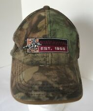 WINCHESTER Camo Baseball Cap Adjustable Embroidered Logo on Hat