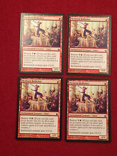 MTG X4 Nyxborn Rollicker Born of the Gods Magic the Gathering Common Red Cards