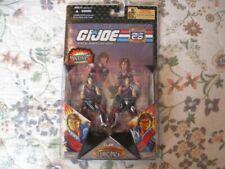 2007 Gi Joe 25th Anniversary Tomax & Xamot Comic Action Figure 2 PK Hasbro