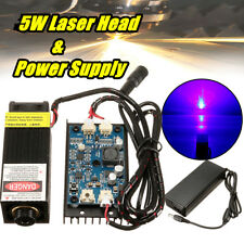 5W Laser Head Engraving Module for Engraver Marking Wood Cut Cutting with TTL