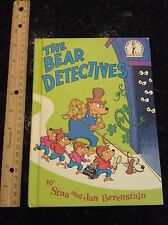 Dr. Seuss Berenstain Bears VINTAGE The Bears Detectives hardcover #4