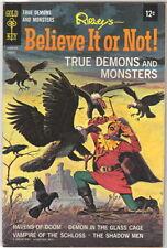 Ripley's Believe It or Not! Comic Book #10 Gold Key 1968 VERY FINE-