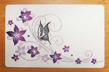 Schreibtischunterlage Schmetterling auf Blume 40 X 60 Cm Abwischbar