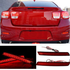 2x For Chevrolet Malibu 2011-14 Rear Bumper Left+Right Taillight LED LAMP Cover