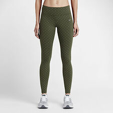 Nike Femmes Epic Luxe Flash Collant Course Olive 687012 325 Taille S (S)